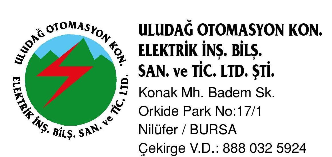 ULUDAG ELEKTRİK OTOMASYON LTD.ŞTI